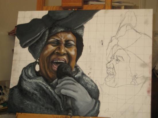 Aretha Franklin by oakieprotege_2